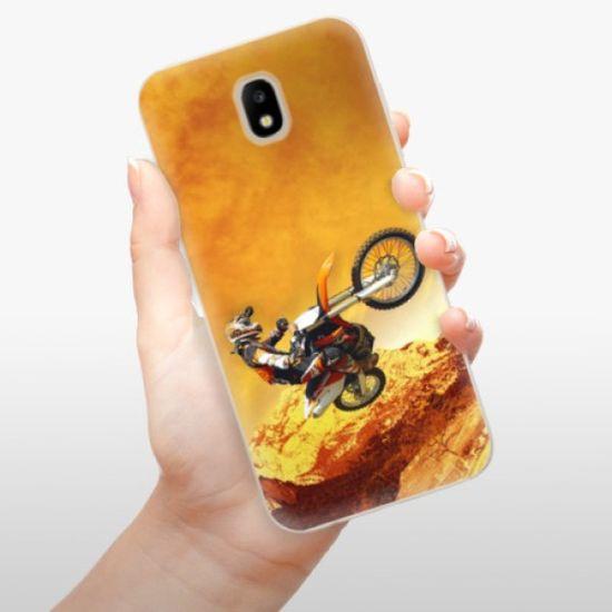 iSaprio Silikonowe etui - Motocross na Samsung Galaxy J5 (2017)