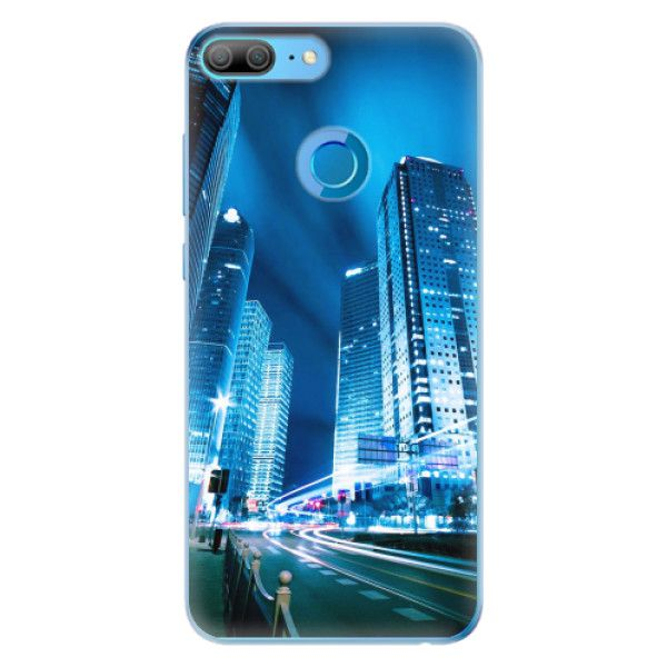 iSaprio Silikonové pouzdro - Night City Blue pro Honor 9 Lite