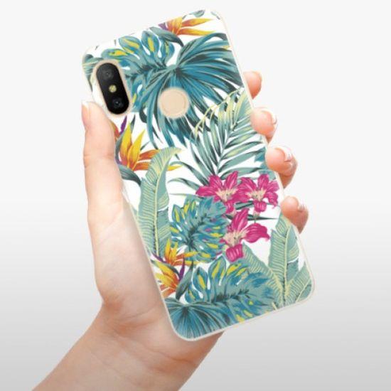 iSaprio Silikonowe etui - Tropical White 03 na Xiaomi Mi A2 Lite
