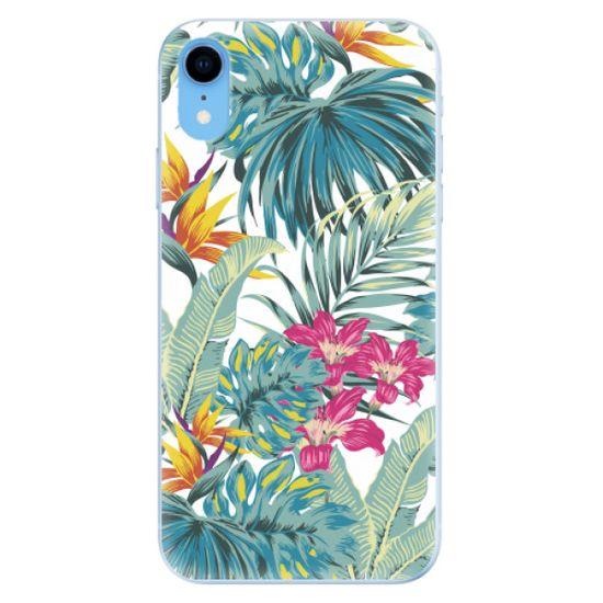 iSaprio Silikonowe etui - Tropical White 03 na Apple iPhone Xr