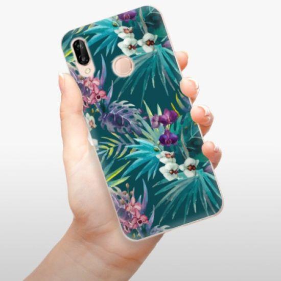 iSaprio Silikonowe etui - Tropical Blue 01 na Huawei P20 Lite