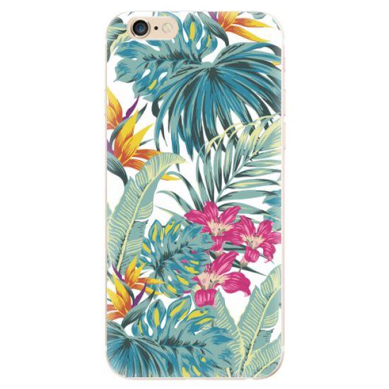 iSaprio Silikonowe etui - Tropical White 03 na Apple iPhone 6 Plus