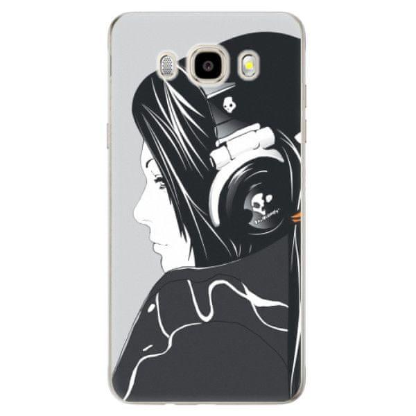 iSaprio Silikonové pouzdro - Headphones pro Samsung Galaxy J5 (2016)