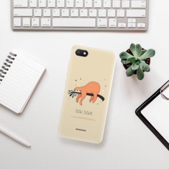 iSaprio Silikonowe etui - Slow Down na Xiaomi Redmi 6A