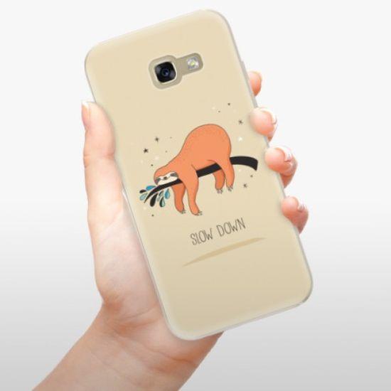 iSaprio Silikonowe etui - Slow Down na Samsung Galaxy A5 (2017)