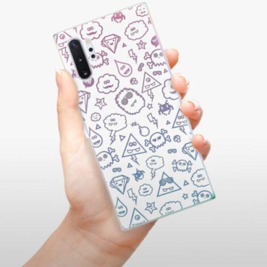 iSaprio Silikonowe etui - Funny Clouds na Samsung Galaxy Note 10+