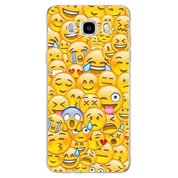 iSaprio Silikonové pouzdro - Emoji pro Samsung Galaxy J5 (2016)