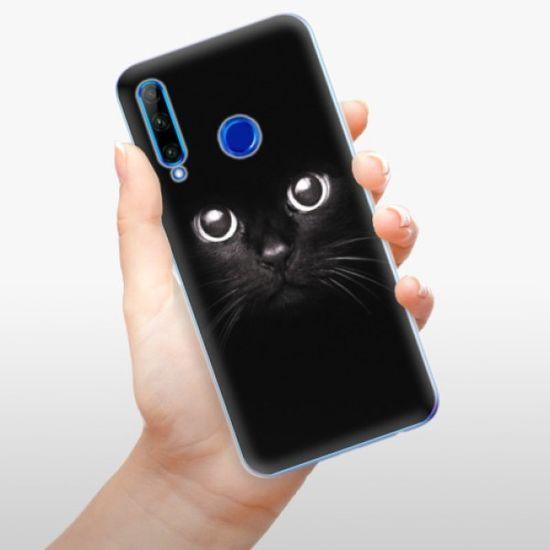 iSaprio Black Cat szilikon tok Honor 20 Lite