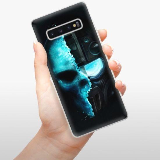 iSaprio Silikonowe etui - Roboskull na SAMSUNG GALAXY S10 PLUS