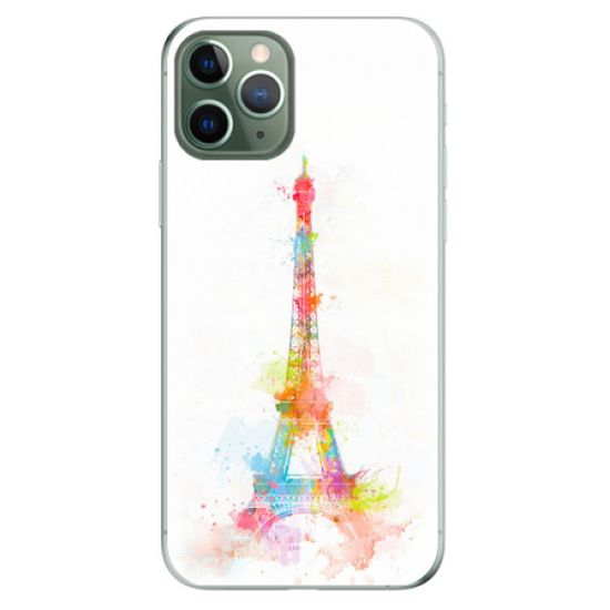 iSaprio Silikonowe etui - Eiffel Tower na Apple iPhone 11 Pro