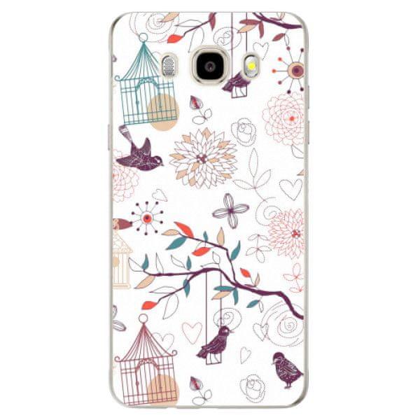 iSaprio Silikonové pouzdro - Birds pro Samsung Galaxy J5 (2016)