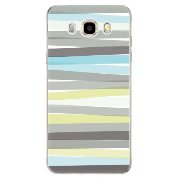 iSaprio Silikonové pouzdro - Stripes pro Samsung Galaxy J5 (2016)