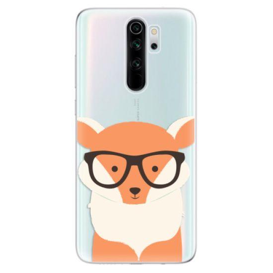 iSaprio Silikonowe etui - Orange Fox na Xiaomi Redmi Note 8 Pro