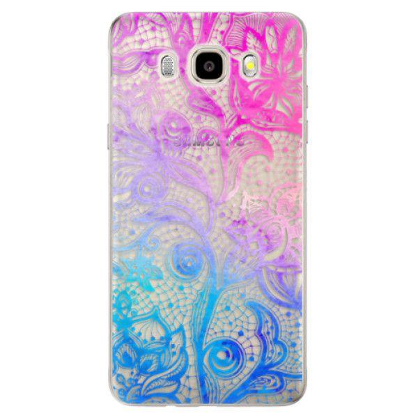 iSaprio Silikonové pouzdro - Color Lace pro Samsung Galaxy J5 (2016)
