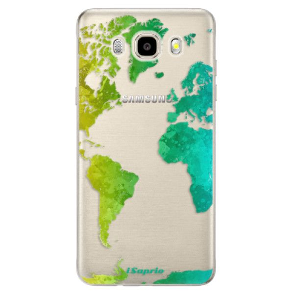 iSaprio Silikonové pouzdro - Cold Map pro Samsung Galaxy J5 (2016)