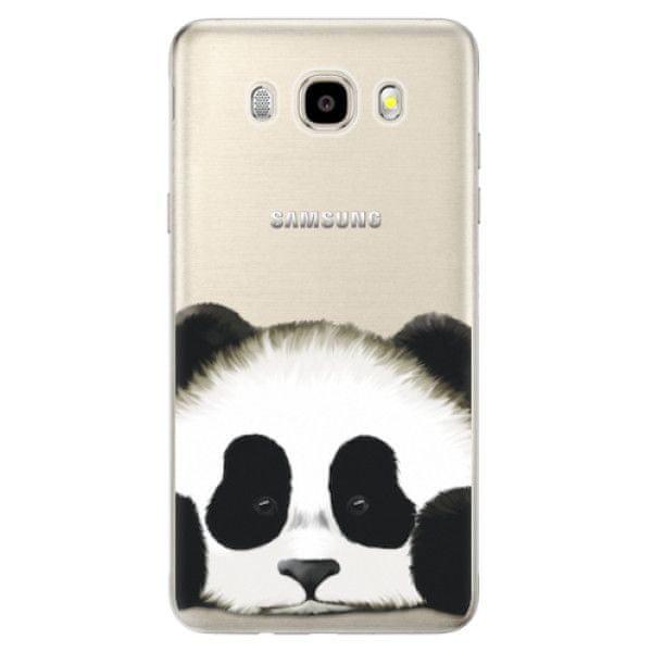 iSaprio Silikonové pouzdro - Sad Panda pro Samsung Galaxy J5 (2016)