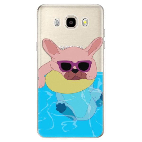 iSaprio Silikonové pouzdro - Swimming Dog pro Samsung Galaxy J5 (2016)