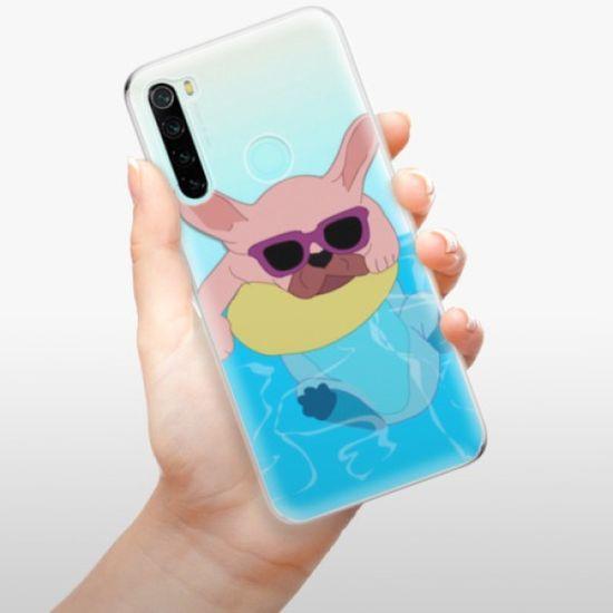 iSaprio Swimming Dog szilikon tok Xiaomi Redmi Note 8