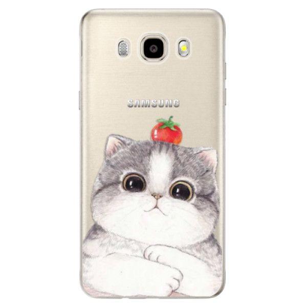 iSaprio Silikonové pouzdro - Cat 03 pro Samsung Galaxy J5 (2016)