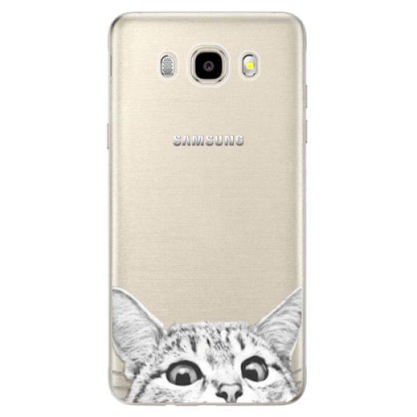 iSaprio Silikonové pouzdro - Cat 02 pro Samsung Galaxy J5 (2016)