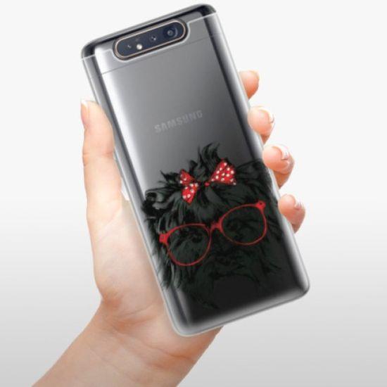 iSaprio Silikonowe etui - Dog 03 na Samsung Galaxy A80