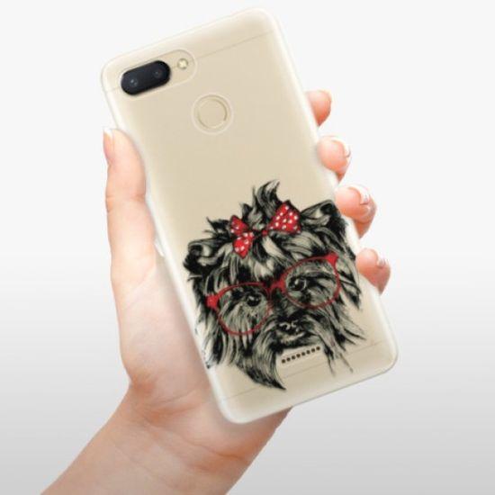 iSaprio Silikonowe etui - Dog 03 na Xiaomi Redmi 6