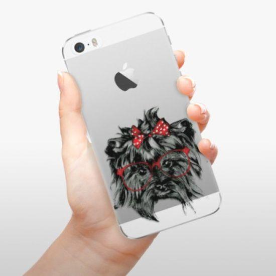 iSaprio Silikonowe etui - Dog 03 na Apple iPhone 5/5S/SE
