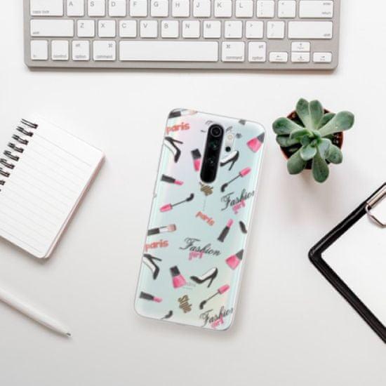 iSaprio Silikonowe etui - Fashion pattern 01 na Xiaomi Redmi Note 8 Pro