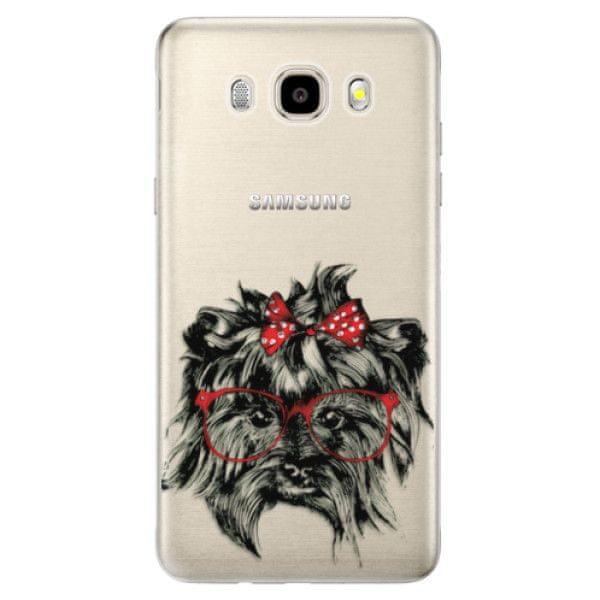 iSaprio Silikonové pouzdro - Dog 03 pro Samsung Galaxy J5 (2016)