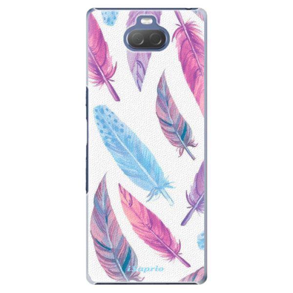 iSaprio Plastový kryt - Feather Pattern 10 pro Sony Xperia 10