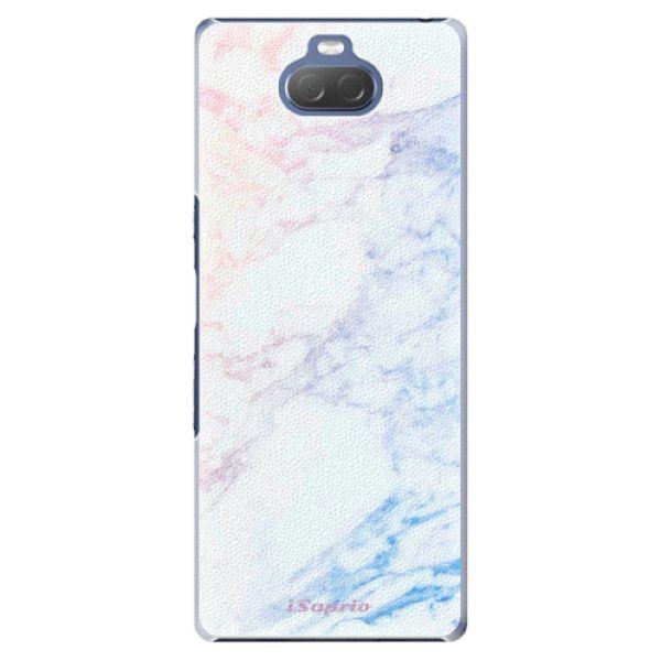 iSaprio Plastový kryt - Raibow Marble 10 pro Sony Xperia 10