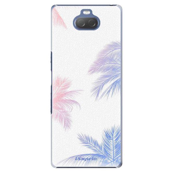 iSaprio Plastový kryt - Digital Palms 10 pro Sony Xperia 10