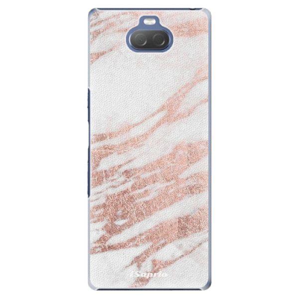iSaprio Plastový kryt - RoseGold 10 pro Sony Xperia 10