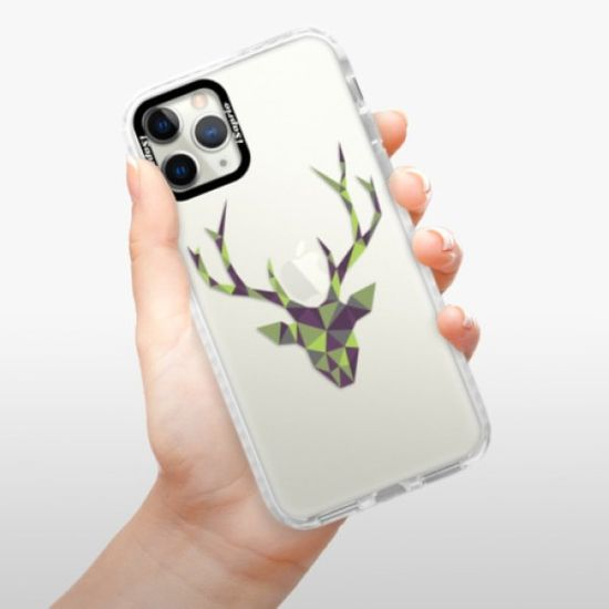 iSaprio Silikónové puzdro s bumperom - Deer Green pre Apple iPhone 12 Pro Max