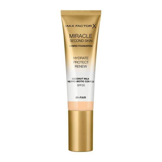 Max Factor Miracle Touch Second Skin tekući puder, SPF 20, 30 ml, 05 Medium