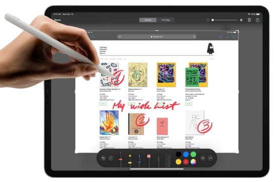 Apple iPad Pro 12,9 tablični računalnik, 1 TB, Wi-Fi, Silver (mxay2hc/a)