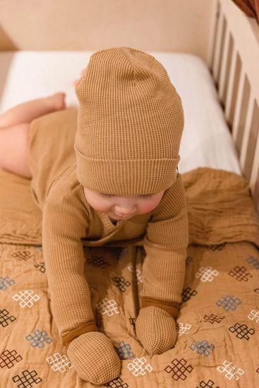 Lodger rękawiczki dziecięce Mittens Ciumbelle Honey