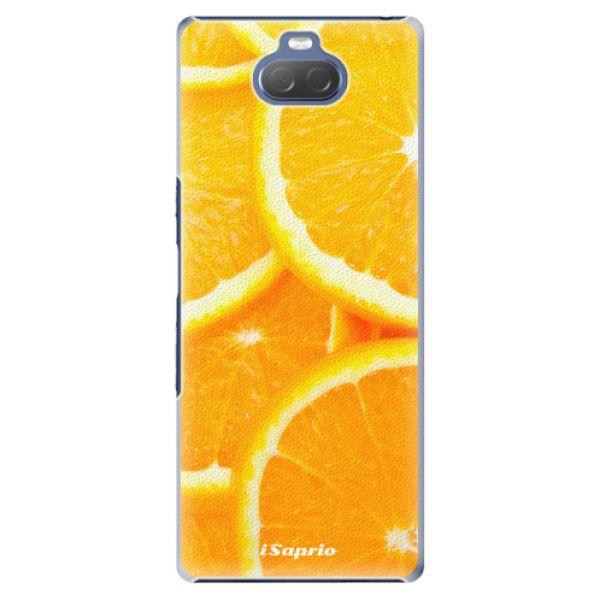 iSaprio Plastový kryt - Orange 10 pro Sony Xperia 10