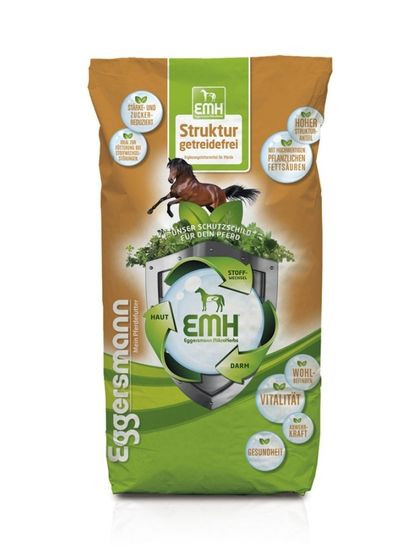Eggersmann EMH Struktur Müsli - pro koně bez obilovin