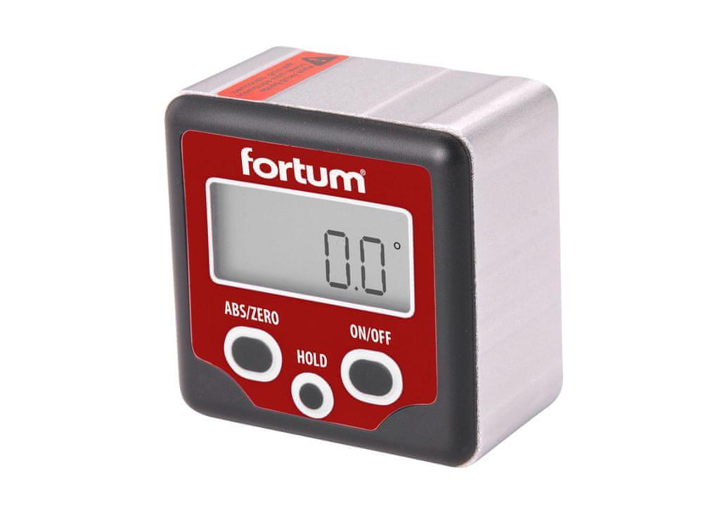 Fortum Sklonoměr digitální, 0°-360°, s magnety