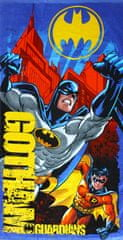 "SETINO Detská osuška ""Batman"" - modrá - 70 x 140 cm"