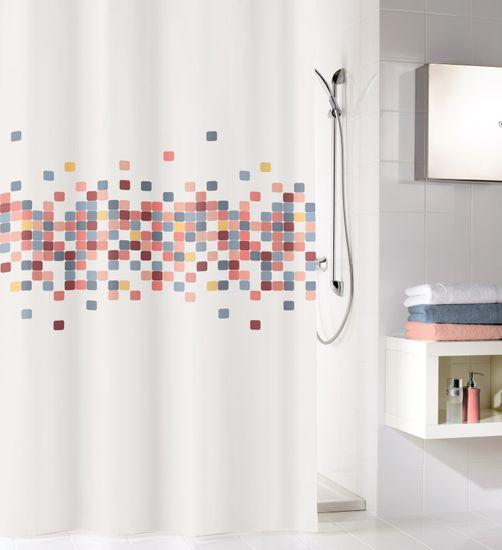 Kleine Wolke kopalniška zavesa Cora, 180×200 cm, večbarvna