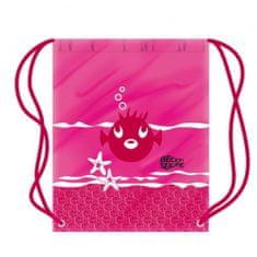 DENA Dziecięcy worek do pływania z rybkami - więcej kolorów, różowy
