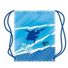 DENA Dziecięcy worek do pływania z rybkami - więcej kolorów, niebieski
