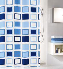 Kleine Wolke kopalniška zavesa Clipper, 180×200 cm, modra