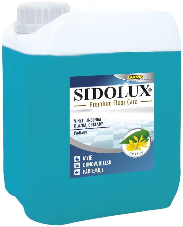 Sidolux PREMIUM FLOOR CARE vinyl, lino, dlažba, obklady - ylang ylang
