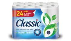Classic White 24 ks - 2vrstvý toaletní papír
