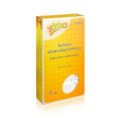 XKKO Pieluchy bawełniane gruboziarniste LUX ECO 70x70 niebielone - 10szt