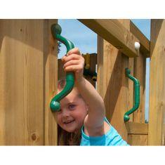 Jungle Gym Handgrips - úchyty zelené - (2 ks)