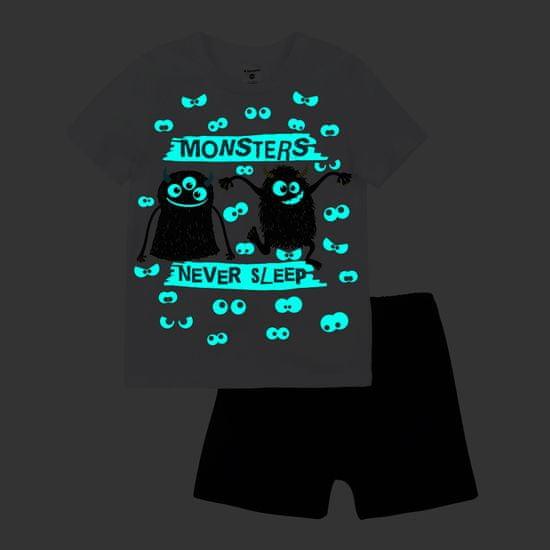 Garnamama dětské pyžamo s potiskem svítícím ve tmě Neon Summer